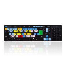WIRELESS Avid Media COMPOSITORE Tastiera - 2.4GHZ MAC & del PC da editorskeys