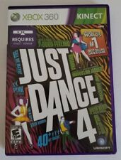 Just Dance 4 Xbox 360 Kinect Video Game CIB Complete