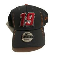 Nascar #19 New Era Hat 9 Forty Adjustable Hat