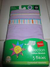 Hanes Cotton Blend Underwear (Sizes 4 & Up) for Girls