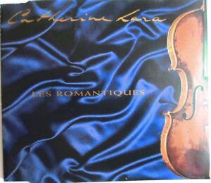 """CATHERINE LARA - CD SINGLE PROMO 3 TITRES """"LES ROMANTIQUES"""" (VERSION SINGLE)"""