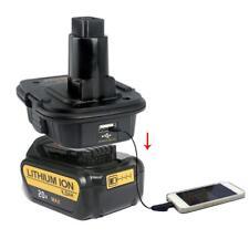 USB Battery Convertor Adapter For Dewalt 18V / 20V Li-ion Battery Convert To 18V