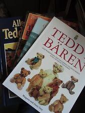 4 Bücher Alles über Teddybären Wissenswerte Teddy Bear Spielzeug Bären