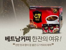 G7 Blend Pure Black Coffee Trung Nguyen Vietnamese Instant Robusta 15T x 4packs