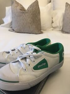 Dunlop Green Flash Trainers With Box