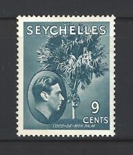 SEYCHELLES,  # 131,  Mint,  KING GEORGE VI,  COCO-DE-MER-PALM