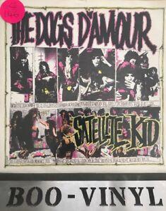 "THE DOGS D'AMOUR 7"" VINYL P/S SATELLITE KID PUNK GLAM EX """
