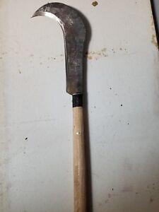 Right Handed Curved Machete Cuma Para Tameguar