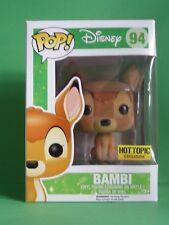 Bambi unflocked Pop vinyl Funko - VAULTED Disney 94
