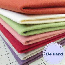 1/4 Yard Merino Wool blend Felt 20% Wool/80% Rayon - Cut to order