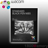 Wacom Intuos Pro 5 4 Intuos Creative Cintiq 5 Standard Pen Nibs Black ACK-200-01