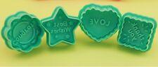 Appreciations Cookie Fondant Gum Paste Cutter Plunger Set Baking Tools Supplies