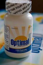 Optimal D3 | Vitamin D3 50000 IU | 120 Capsules | Exp. 01/2020