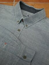 GORGEOUS Tom Tailor Shirt Large ptp 23 inches button down collar 16 inches