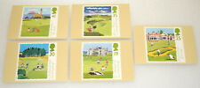 Royal Mail PHQ Postcard Set 163 Golf Issued 1994