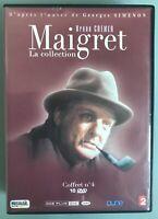 DVD - Maigret La collection B - Bruno Cremer - Coffret n. 4 - 10 dvd - FRANCESE