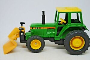 BRITAINS Action Drive JOHN DEERE Type Tractor w/ Front Mounted SNOW-PLOUGH VGC