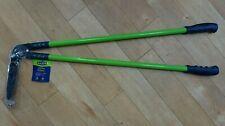 SAXON Long Handled EDGING SHEARS Cut Comfort Handles Lawn Edge etc. NEW