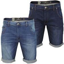Unifarbene Herren-Shorts aus Baumwolle mit regular Länge