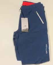 Ortovox da donna XL Pantaloni Blu notte Escursioni Arrampicata Alpinismo PANTALONE NUOVO CON ETICHETTA