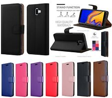 Case For Samsung Galaxy J3 J4 Plus J5 2017 J6 Leather Flip Card Wallet Folio