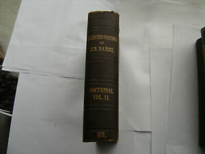 Doctrinal Vol 2 of Collected Writings J.N.D. Darby Plymouth Brethren