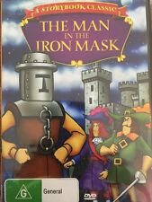 The Man In The Iron Mask - Region 4 DVD Brand NEW- Free Post!!