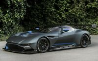 Aston Martin Vulcan - Black Sports Car Wall Art Large Poster / Canvas Pictures