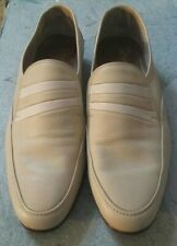 Barker Squash Max Mens Shoes. Cream Beige. Size 10 E. Leather. Slip On Loafers