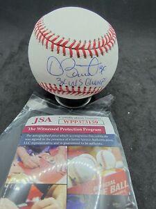 Dave Stewart Autographed Baseball JSA COA