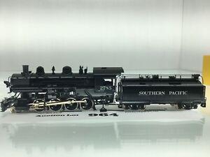 964 Sunset Model HO Scale Brass SP 2-8-0 #170a-1 Pump w/ Whaleback Tender 2 Rail