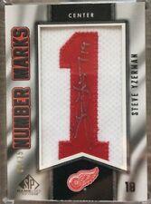 2010-11 Upper Deck: SP Game-Used Number Marks Autographed/25-Steve Yzerman