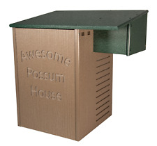 Jcs Wildlife Recycled Poly Lumber Awesome Possum House