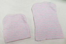 50 NEW BABY HOSPITAL HATS 2 PLY POLYESTER BLUE PINK WHITE USA MADE