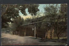 America Postcard - The Old Log Cabin Hall, Euclid Beach, Cleveland, Ohio  RS4334