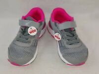 """New Balance """"KA680SSY"""" Little Kids Girls Sneakers,Gray/Pink Size 12.5 Extra Wide"""