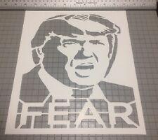 Trump Street Art Stencil Large