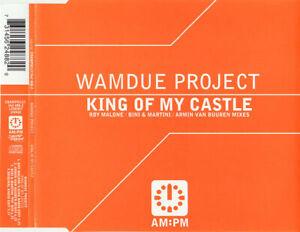 Wamdue Project – King Of My Castle 4-Track CD Single (2002) Armin Van Buuren