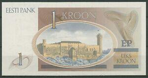 Estland 1 Kroon 1992, KM 69 a kassenfrisch (K256)