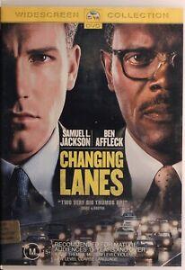 Changing Lanes DVD - Ben Affleck - Free Post