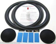 "Infinity SM125 12"" Woofer Foam Kit - Speaker Repair w/ Shims & Dust Caps!"