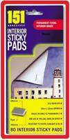 INTERIOR STICKY PADS SELF ADHESIVE INDOOR FOAM DOUBLE SIDED ULTRA STRONG FIXING