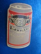 PINS BIERE BOISSON ALCOOL CANETTE BEER BUDWEISER