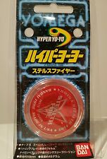 Yomega Stealth Fire Performance Yoyo 1998 Rare Collectible BNIP Clear/Red