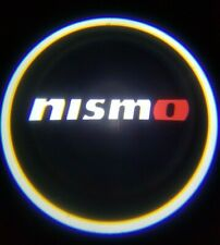 2PCS NISMO LED Rechargeable Car Door Projector Shadow Laser Light Logo