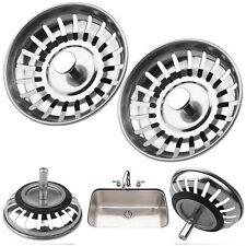 Premium Kitchen Sink Replacement Drain Waste Filter Plug Basin Strainer Drainer