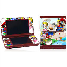 Mario & Peach Vinyl Decal Cover Skin Sticker for New Nintendo 3DS XL LL Console
