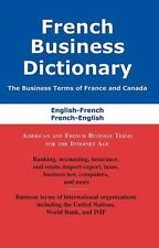 FRENCH BUSINESS DICTIONARY - BOUSTEAU, AGNES/ BOISVERT, SIMON - NEW PAPERBACK BO