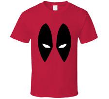 Deadpool Eyes T-shirt Mens Tee Superhero Comic Funny Movie Gift New
