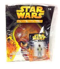 Star Wars Deagostini Admiral Ackbar Die-cast Figurine figure Magazine Sealed